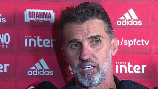 Mancini vibra com vitória que dá confiança, mas diz que São Paulo está distante daquilo que ele quer