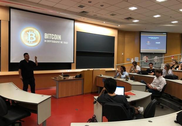 Grupo de estudos de Blockchain no Insper (Foto: Reprodução Facebook/Blockchain no Insper)