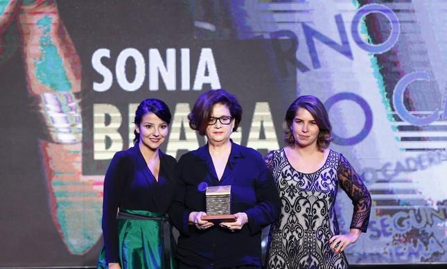 Fátima Sá, Maria Braga e Vivianne Cohen