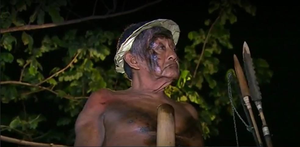 Indígena Aruka Juma morreu vítima da Covid-19 em Porto Velho — Foto: Rede Amazônica/ Reprodução