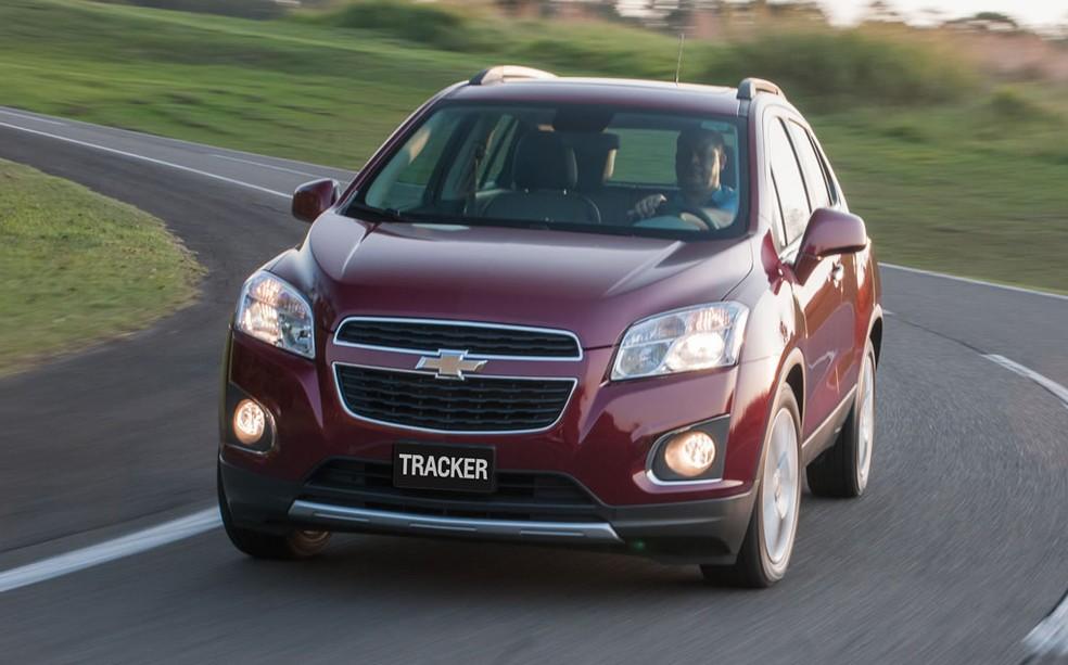 Chevrolet Tracker — Foto: Divulgação
