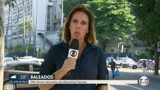 Bandidos atacam policiais militares em Marechal Hermes, Zona Norte do Rio