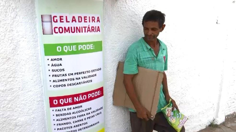 Antônio José Nascimento, de 50 anos, diz que é grato por iniciativa de funcionários de cartório em Rio Branco (Foto: Reprodução/Rede Amazônica Acre)