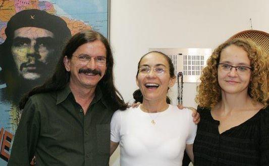 Babá, Heloísa Helena e Luciana Genro (Foto: Reprodução / Facebook)