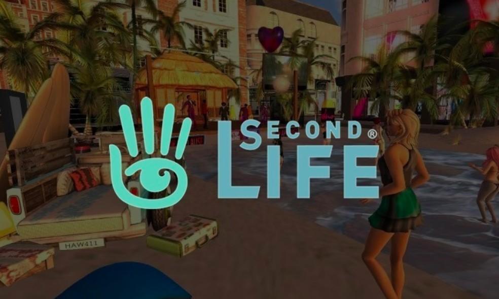 Second Life — Foto: Reprodução/Felipe Vinha