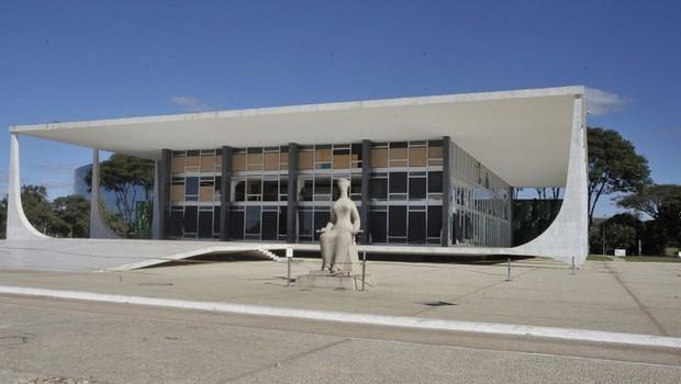 Fachada do Supremo Tribunal Federal (Foto: José Cruz/Agência Brasil/Arquivo)