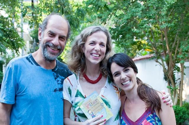 Roberto Bomtempo, Flávia Lins e Silva e Miriam Freeland (Foto: Divulgação)