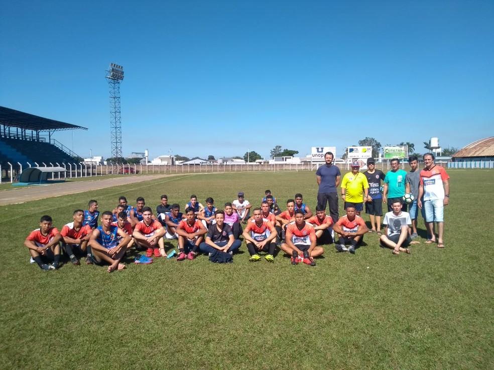 Barcelona de Vilhena faz peneira para formação do elenco sub-20 (Foto: Assessoria/ divulgação)