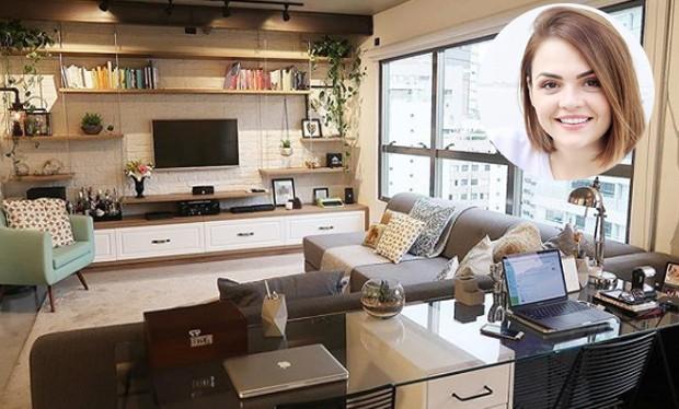 Karol Pinheiro mostra o seu novo apartamento pelo  Youtube e Instagram (Foto: Instagram/ Reprodução)