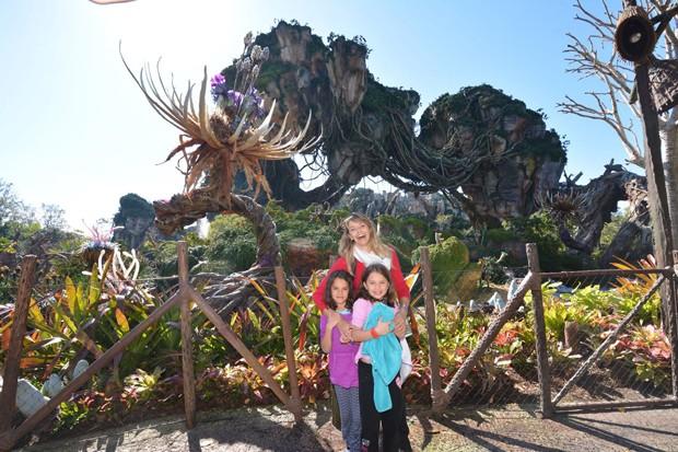 Bianca Rinaldi com as filhas Beatriz e Sophia (Foto: Arquivo pessoal)