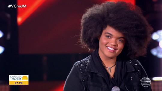 Jovem baiana conquista vaga no programa The Voice Brasil