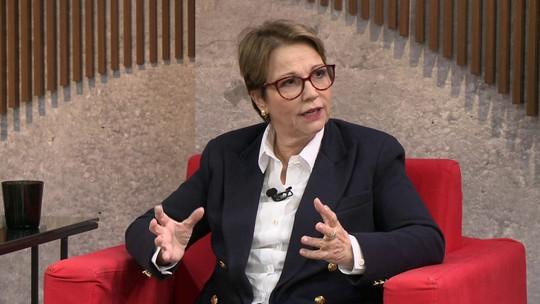 Ministra da Agricultura, Tereza Cristina, é contra o fim das reservas legais no país