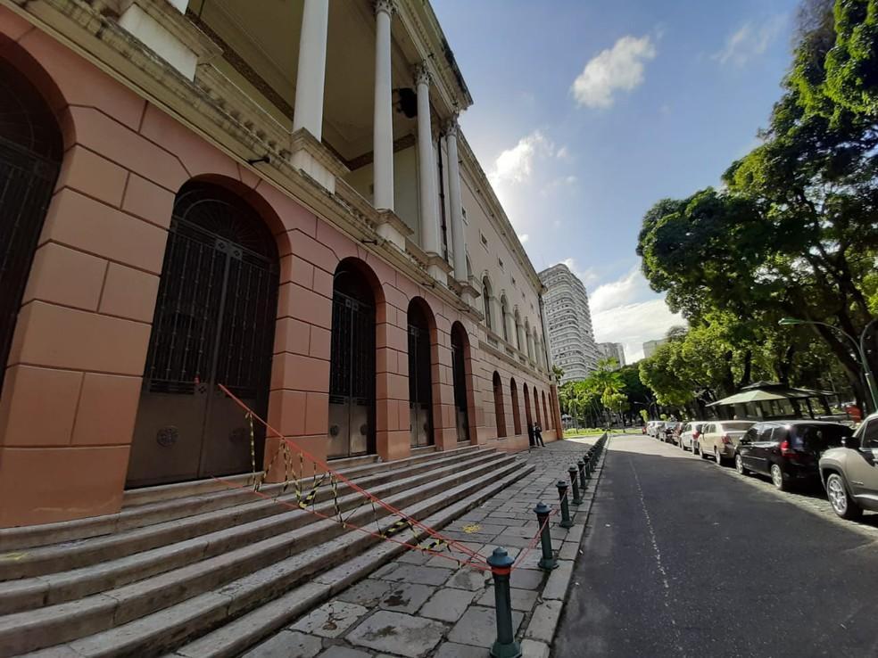 Reparos devem começar em até 60 dias, diz Secult. — Foto: Victor Furtado / O Liberal