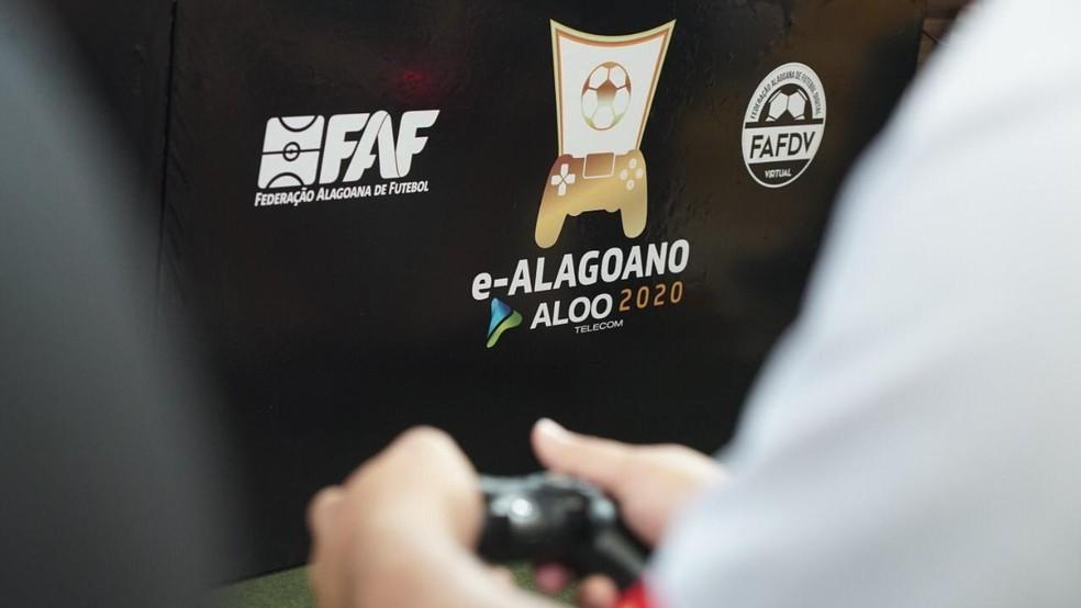 Final do e-Alagoano será disputada entre ASA e CSE — Foto: Reprodução/FAF
