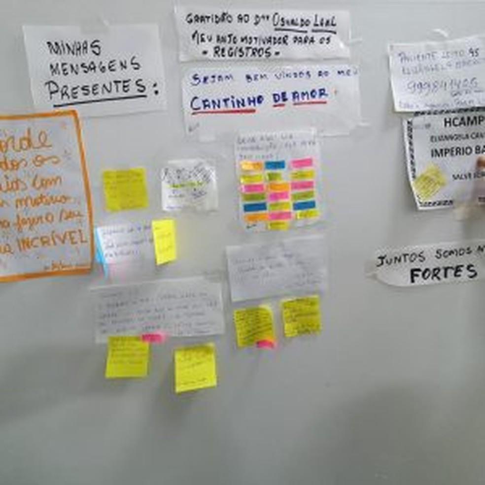 Professora disse que pensou nos familiares, amigos e alunos como incentivo para vencer a Covid-19 — Foto: Arquivo pessoal