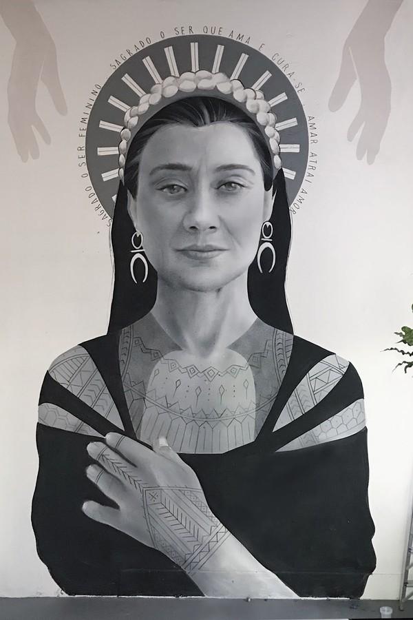 5 mulheres muralistas para você ficar de olho (Foto: Acervo pessoal )