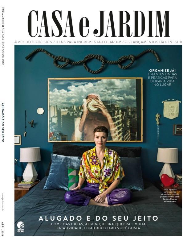 A apresentadora Barbara Thomaz em seu apartamento em Higienópolis, São Paulo (Foto: Christian Maldonado / Editora Globo | Produção Bruna Pereira | Realização Maria Beatriz Gonçalves)