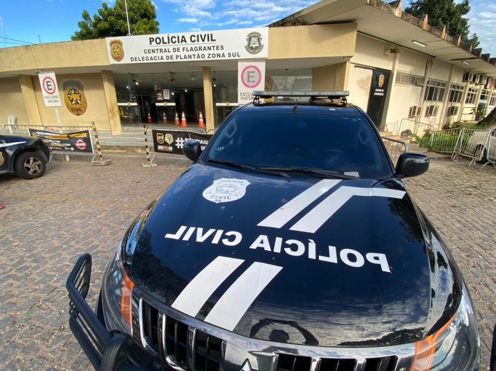 Central de Flagrantes de Natal, Polícia Civil RN, Ilustrativa — Foto: Kléber Teixeira/Inter TV Cabugi