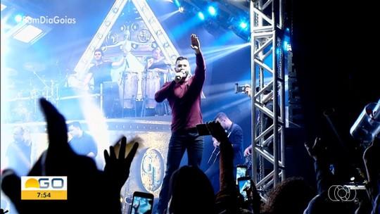 Gusttavo Lima faz show na Pecuária de Rio Verde