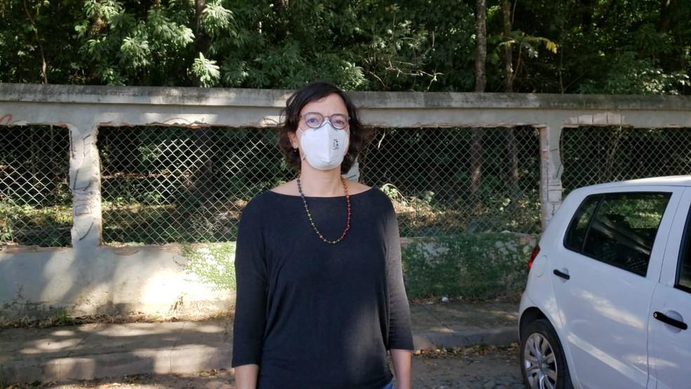 Mariana Lacerda, diretora do Museu de História Natural da UFMG — Foto: Rodrigo Franco / TV Globo