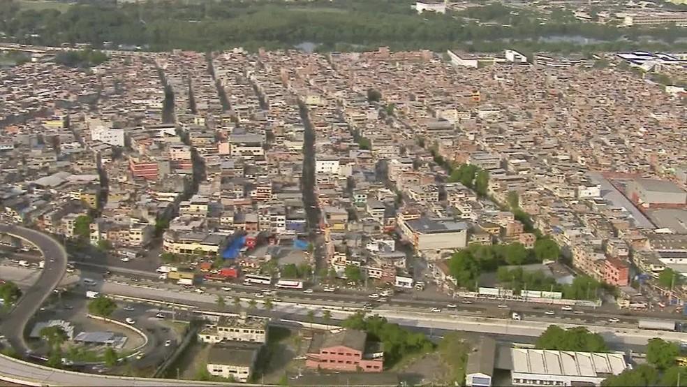 Complexo da Maré — Foto: Reprodução / TV Globo
