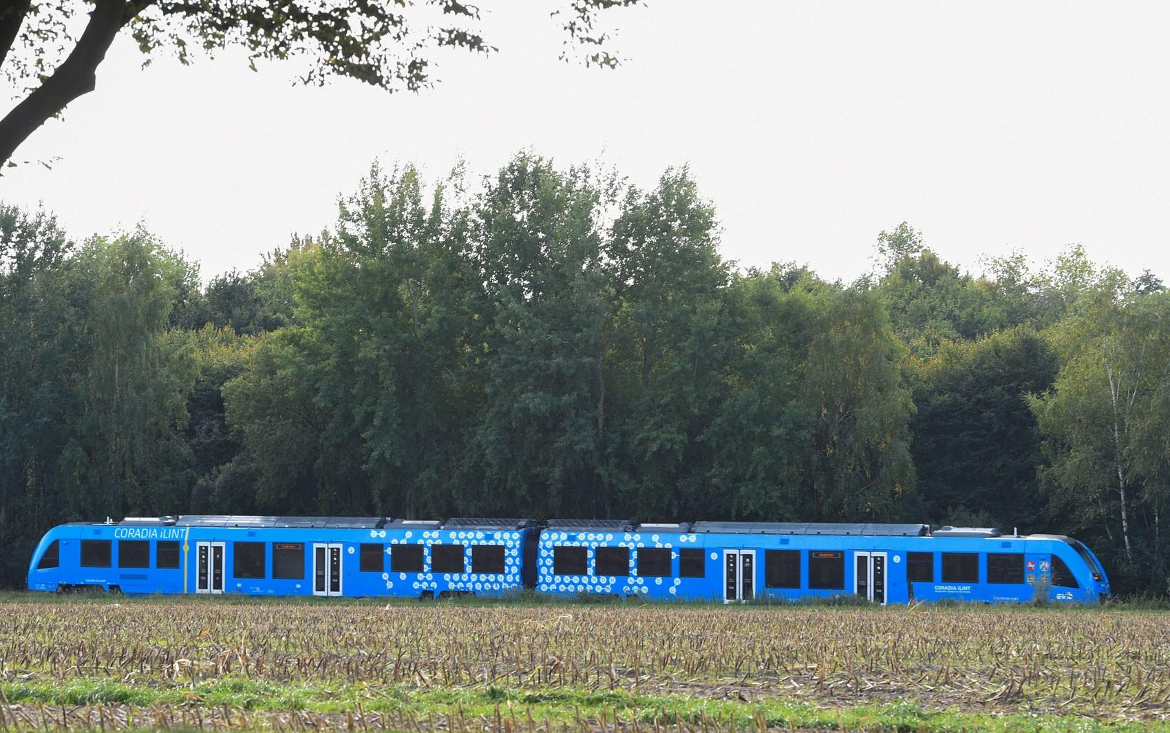 Alemanha estreia o primeiro trem movido a hidrogênio do mundo