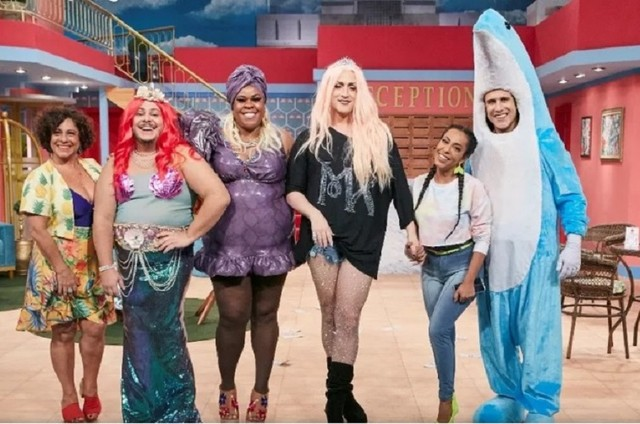 Elenco do 'Vai que cola - temporada Miami' (Foto: Reprodução)