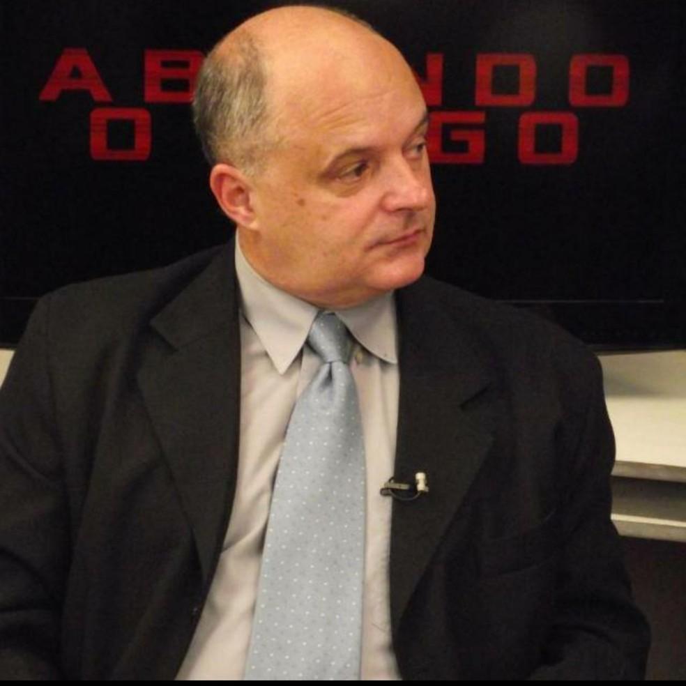 Fundador e diretor de TV em Petrópolis, RJ, Marcos Falconi morre por complicações da Covid-19  — Foto: Arquivo pessoal