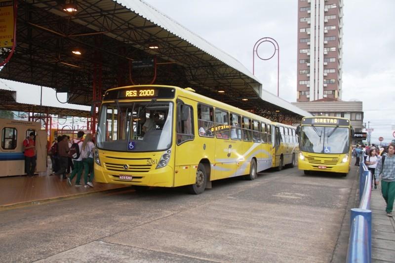 Ônibus de Guarapuava irão circular com horário reduzido a partir de sábado (27)