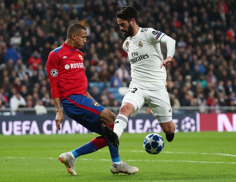 Isco pode desfalcar o Real Madrid na Liga dos Campeões — Foto: REUTERS/Sergio Perez