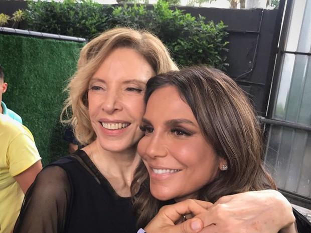Marília Gabriela e Ivete Sangalo (Foto: Instagram/Reprodução)