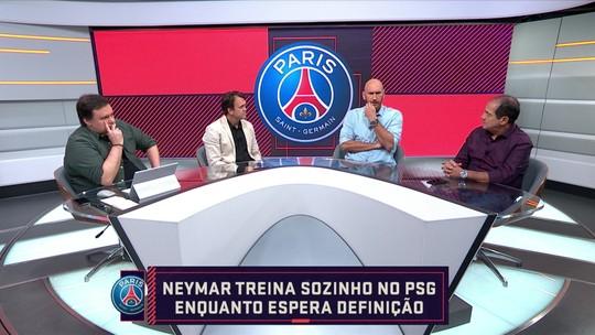 """No Seleção SporTV, Muricy comenta situação de Neymar: """"Ficou maior do que o PSG"""""""