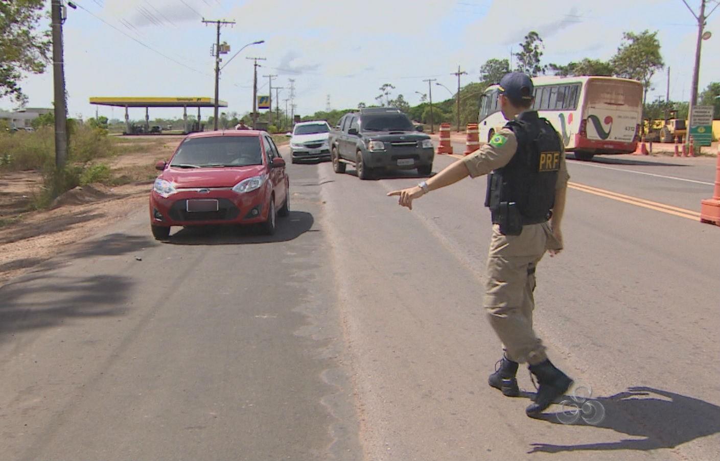 PRF intensifica fiscalização nas rodovias federais do AP na 'Operação Semana Santa'