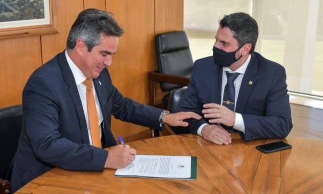 Ciro Nogueira e Marcos do Val