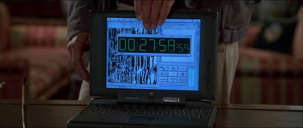 Por outro lado, o Powerbook 5300 apareceu em vários filmes de Hollywood, como Independence Day — Foto: Reprodução/Independence Day