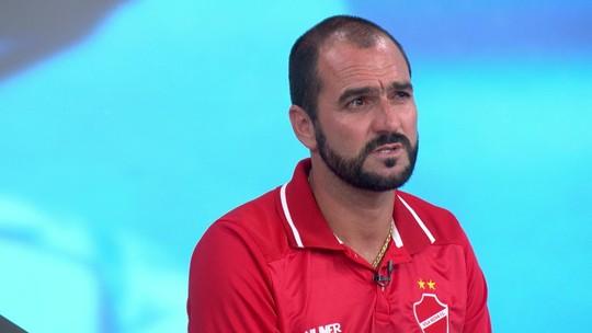 """Agora no Vila Nova, Danilo lembra tempo parado e novo desafio aos 39 anos: """"Não podia parar assim"""""""