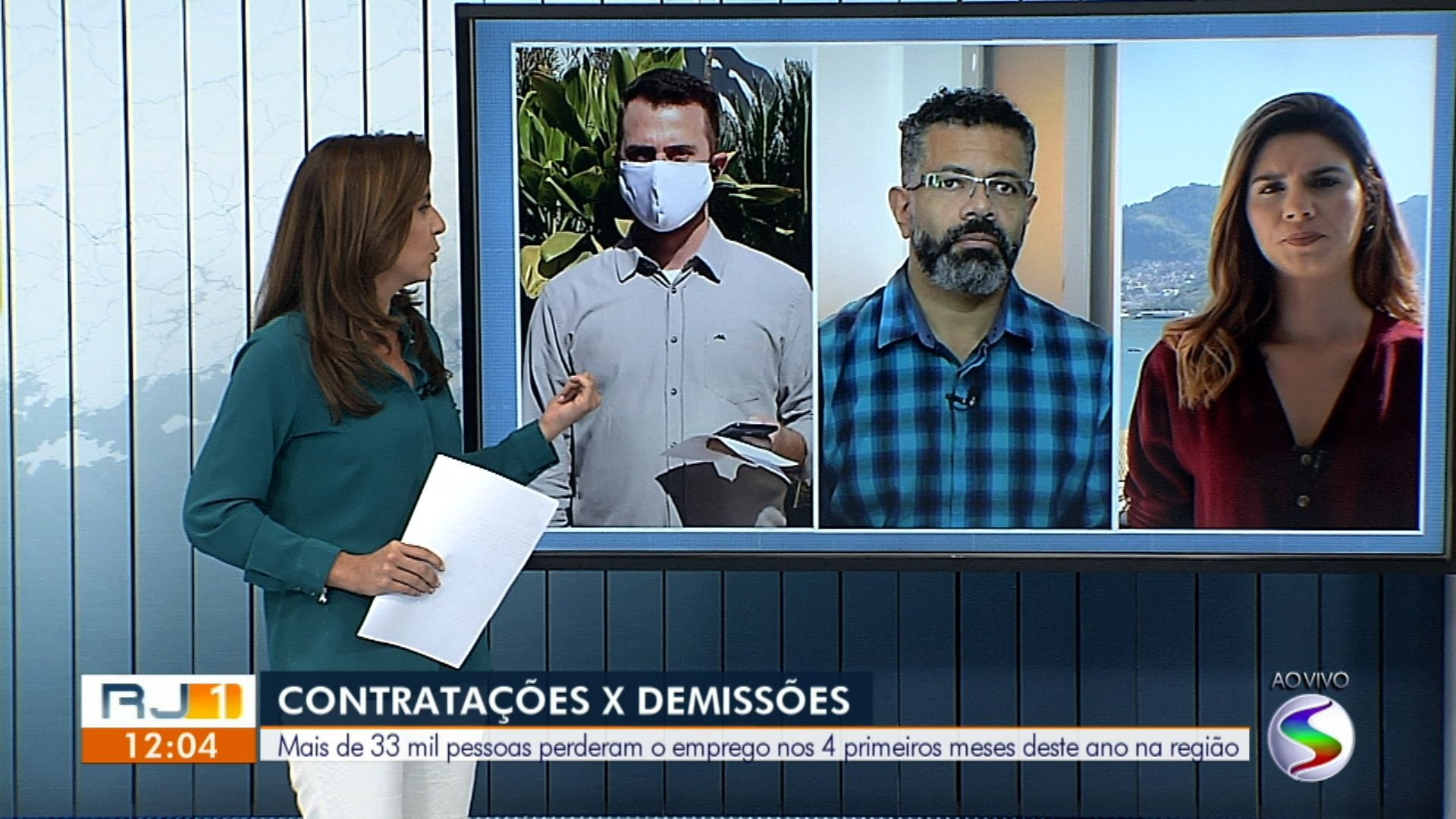 VÍDEOS: RJ1 TV Rio Sul de segunda-feira, 1 de junho
