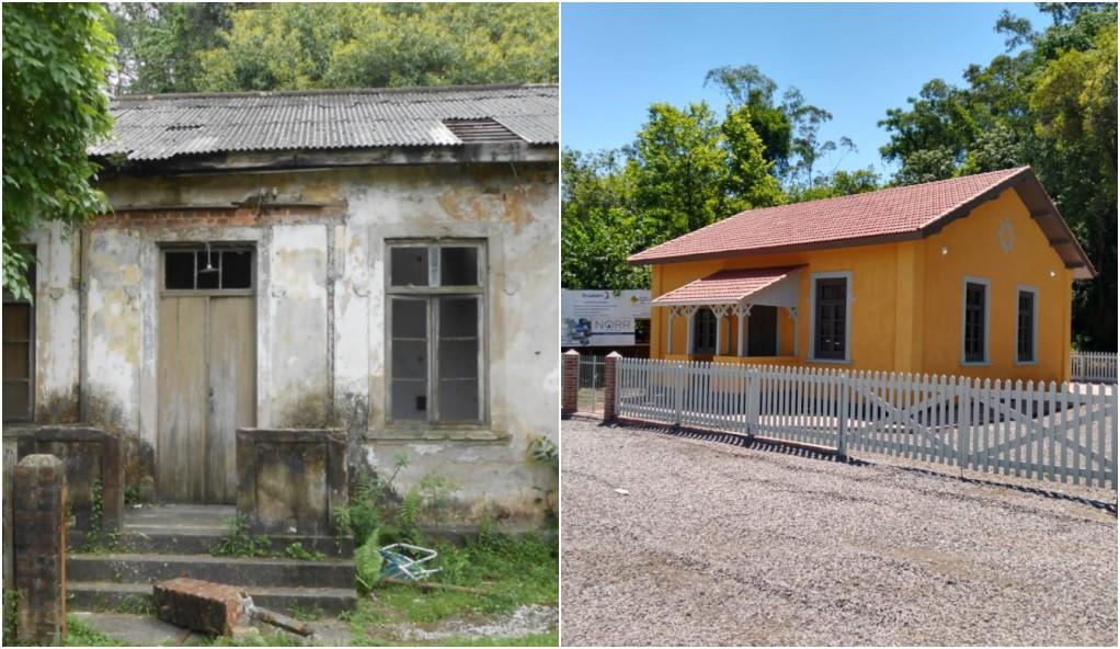 Construção histórica é inaugurada após restauração em Montenegro