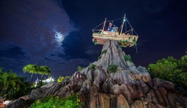 Parque aquático Disney's Typhoon Lagoon (Foto: Divulgação)