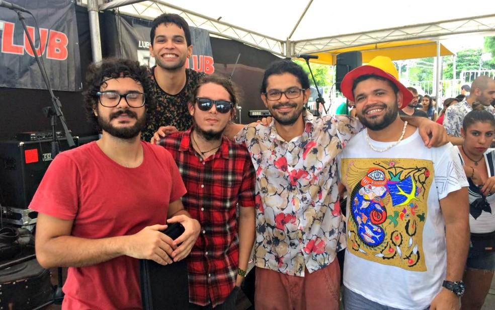 Banda Alaídenegão — Foto: Rickardo Marques/G1 AM