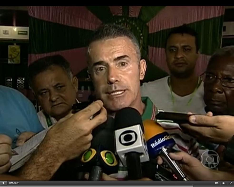 Chiquinho da Mangueira — Foto: Reprodução/ TV Globo