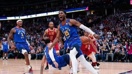 Armador marca 35 pontos e comanda vitória do Denver que segue firme na  busca pela classificação dos playoffs da NBA d533e973a8da6