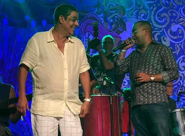 Zeca Pgodinho e Dudu Nobre (Foto: QUEM)