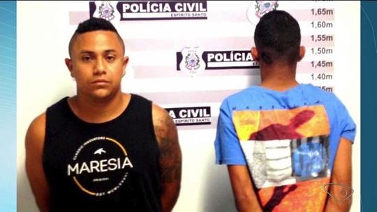 Adolescente e jovem são detidos suspeitos de homicídios no Norte do ES