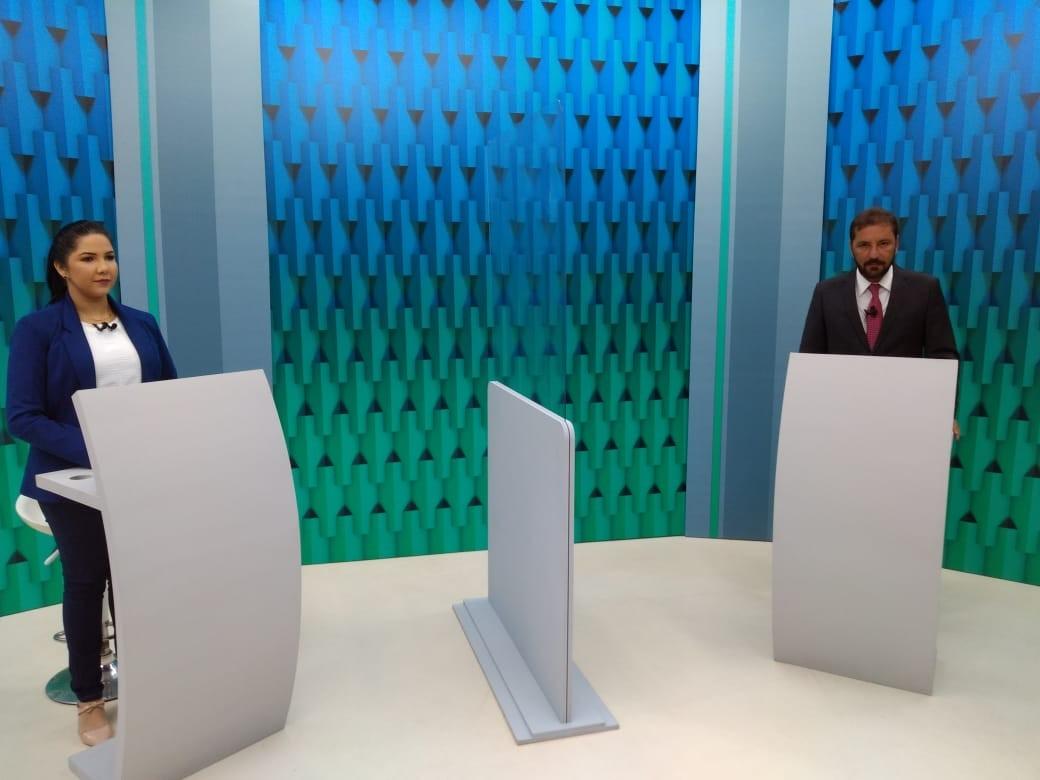 REVEJA: Cristiane e Hildon no último debate em Porto Velho