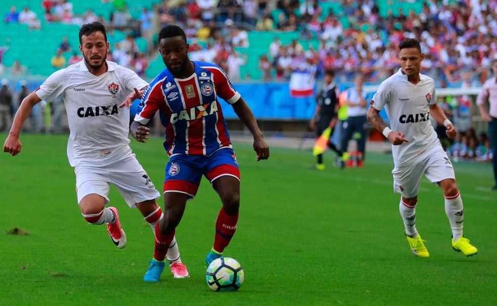 Tricolor enfrentou maior rival sete vezes na temporada; quatro em um espaço de 11 dias (Foto: Marcelo Malaquias/Divulgação/EC Bahia)
