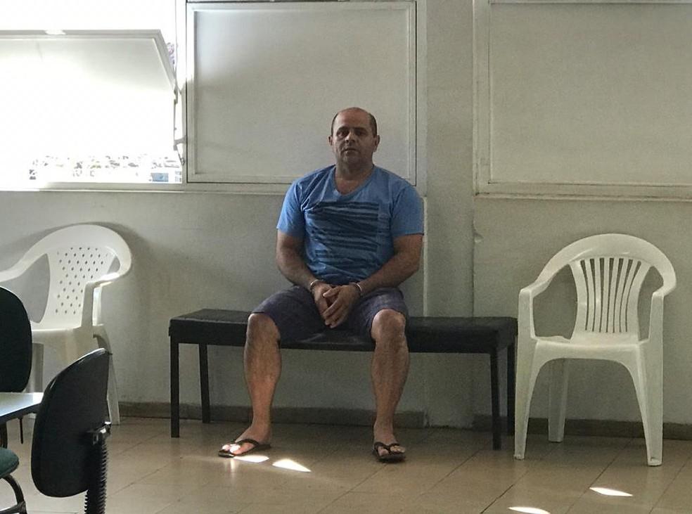 Jaime Tristão Alves era considerado foragido e foi localizado e preso nesta no dia 8 de setembro em Rochedo de Minas — Foto: Caroline Delgado/G1