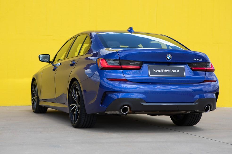 Novo BMW Série 3 — Foto: Marcelo Brandt/G1