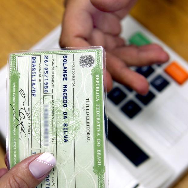 Título eleitoral ; eleições (Foto: Divulgação/TRE)