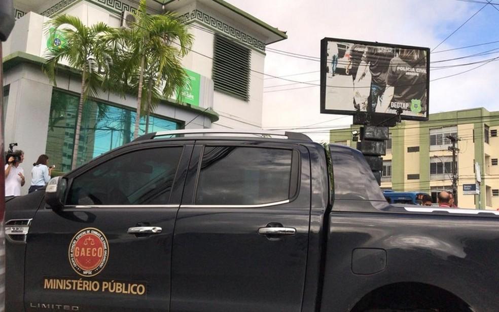Sede do Deotap, em Aracaju — Foto: Cleverton Macedo/TV Sergipe